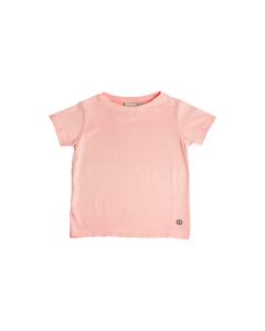 Em T-shirt Kids Washed Pink Pink