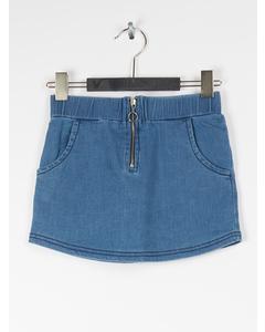 Em Via Skirt Jeans Demin Blue