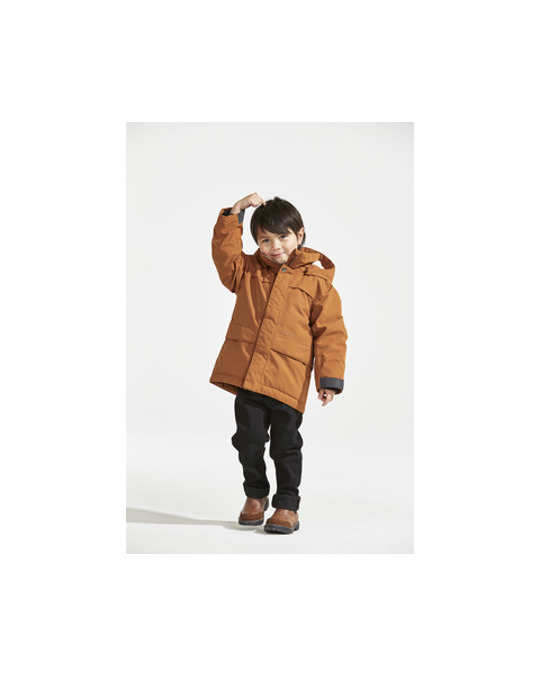 Didriksons Björling Kids B Park Leather Brown