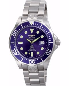 Invicta Grand Diver 3045 Herenhorloge - 47mm