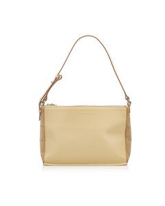 Burberry Leather Shoulder Bag Brown