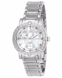 Invicta Wildflower 4718 Damenuhr - 33mm - Mit 16 diamanten