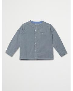 Boy Mantaray Shirts Blue Sapphire