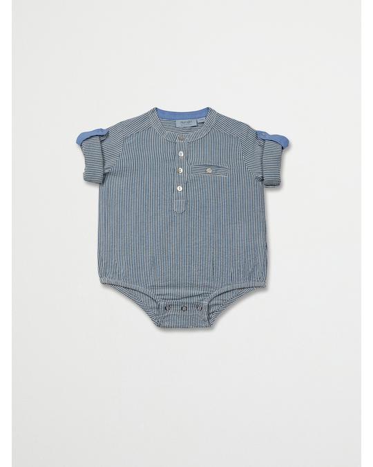 NOA NOA miniature Boy Mantaray Bodies Blue Sapphire