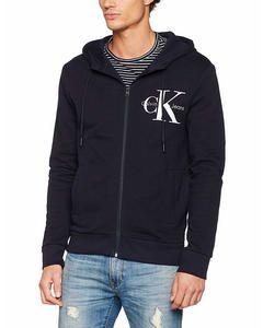 Calvin Klein Zip Hood Blau