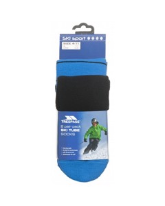 Trespass Herren Toppy Ski-Socken, 2 Paar