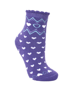 Trespass Childrens/kids Twitcher Patterned Socks