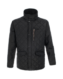 Trespass Mens Argyle Quilted Jacket