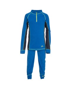 Trespass Kinder Fleece-Unterwäsche-Set Bubbles, Fleece-Top und Baselayer-Hose
