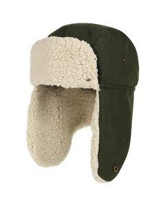 Regatta Mens Halian Fleece Lined Waterproof Winter Walking Trapper Hat
