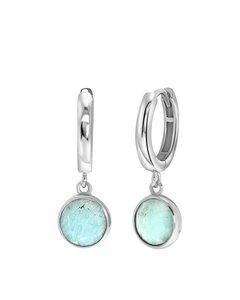 Zilveren Oorbellen Gemstone Amazonite