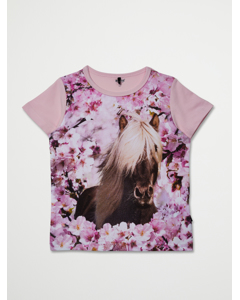 T-shirt Short Sleeve Pink Mist