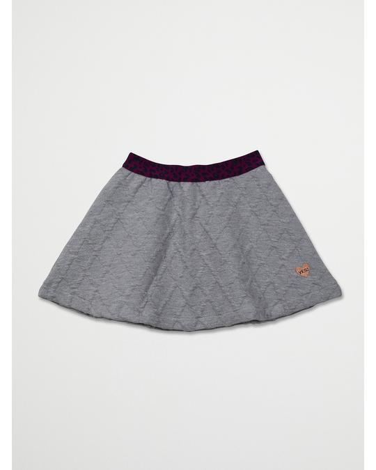 ME TOO Skirt Light Grey Melange