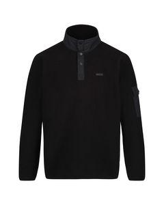 Regatta Mens Cormac Heavyweight Button Neck Fleece Sweater