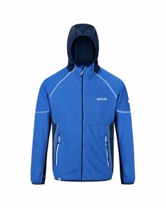 Regatta Heren Kniver Hooded Stretch Fleece