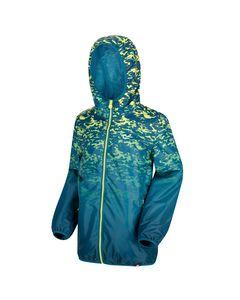Regatta Great Outdoors Childrens/kids Printed Lever Pixel Jacket