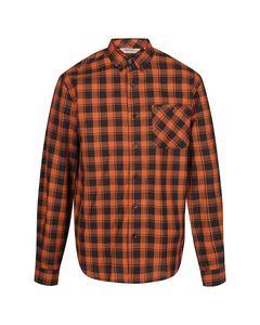 Regatta Great Outdoors Mens Lazare Long Sleeve Checked Shirt
