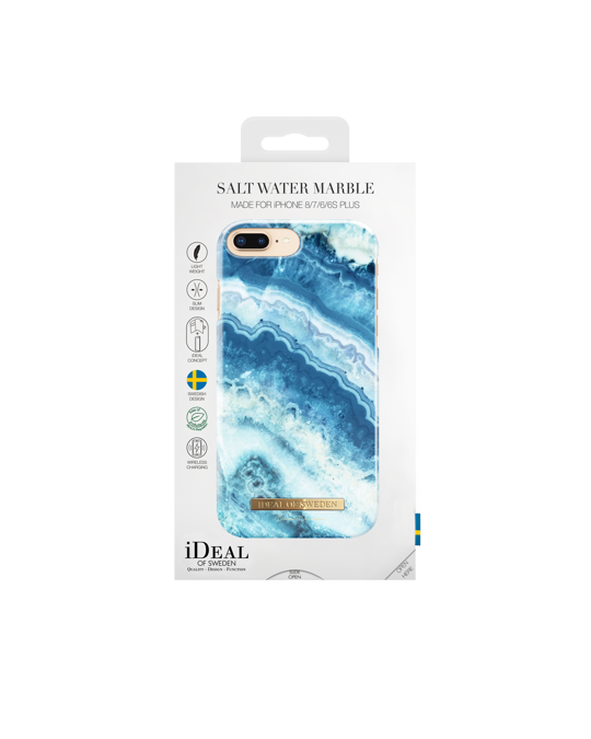 Ideal of Sweden Fashion Case Donna Romina Iphone 8/7/6/6s Plus Salt Water Marble
