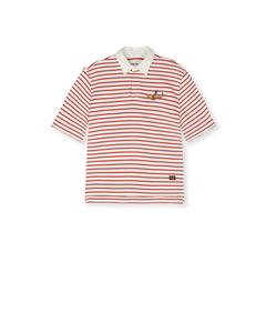 Leopold Poppy Red Stripe