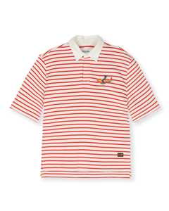 Leopold Poppy Red Stripe