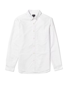 Chapman Regular Fit Oxford Shirt White