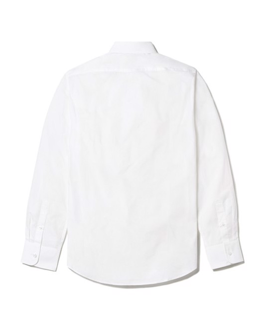 MVP Tillman Cotton Poplin Slim Fit Shirt White