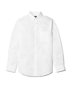 Tillman Cotton Poplin Slim Fit Shirt White