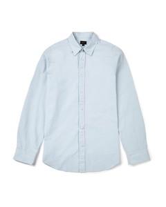 Tinsley Cotton Poplin Slim Fit Shirt Pale Blue