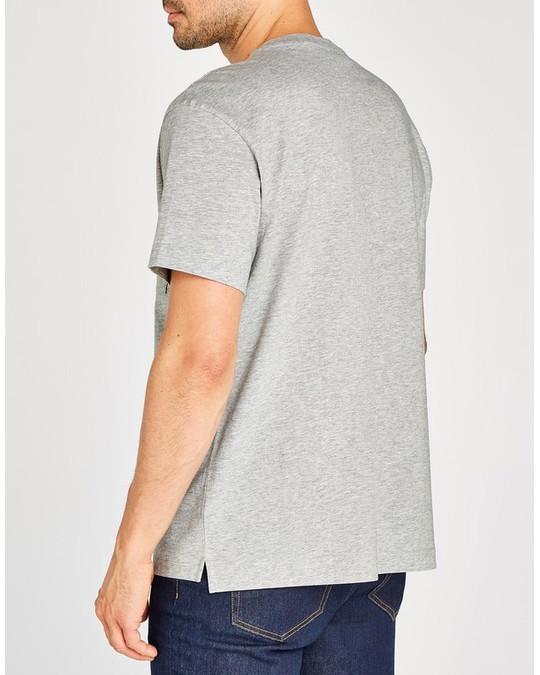 MVP Bedford Crew Neck T-shirt Mid Grey Melange