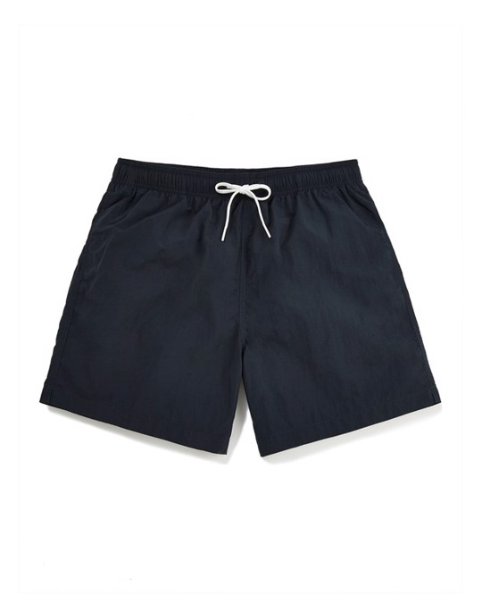 MVP Shorter Length Swim Shorts Navy
