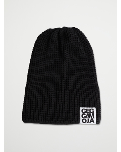 Knitted Beanie  Black 47