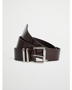 Staple Mid Belt Brown