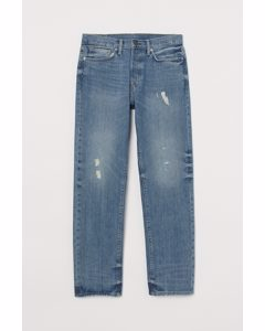 Straight Jeans Blau/Trashed