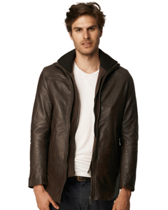 Billy Long Leather Jacket