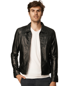 Leather Jacket Briag