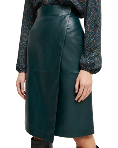 Leather Wallet Skirt