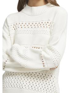 Sweater Open Collar
