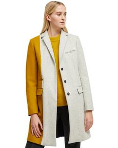 Half-length Tricolor Coat