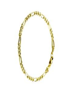 Armband für Herren Gold Figaro