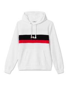 Men Radomir Hoody Bright White-true Red-black