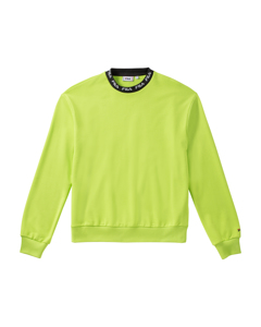 Men Toshiro Crew Sweat Acid Lime