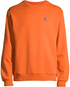Men Hector Crew Sweat Mandarin Orange