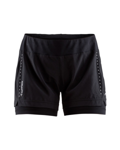 Essential 2-in-1 Shorts W - Black