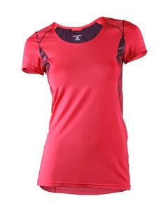 Hp T-shirt Dam Koral/Plommon