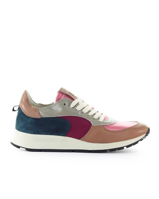 Philippe Model Philippe Model Montecarlo Mondial Pop Pink Blue Sneaker