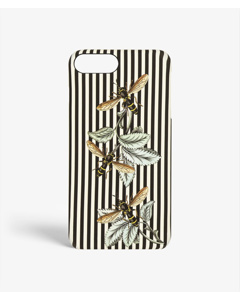 S.c Iphone 7/8 Plus Stripy Wasp Black