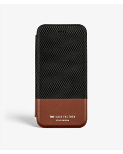S.c Iphone 7/8 Wallet Case Tech Black/brown