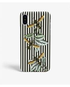 S.c Iphone X/xs  Stripy Wasp Black