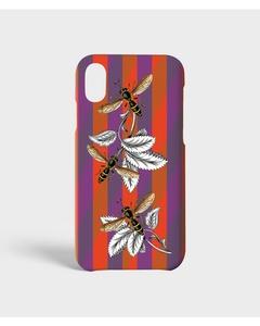 S.c Iphone X/xs Stripy Wasp Orange