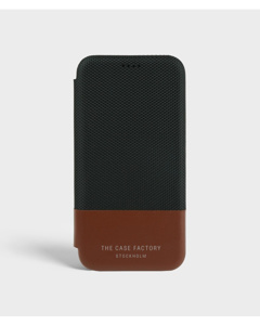 S.c Iphone X/xs Wallet Case Tech Black/brown